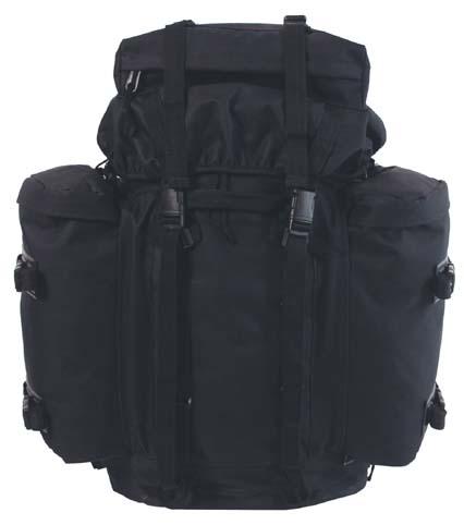 """BW hátizsák """"Mountain"""" fekete, 30283A"""
