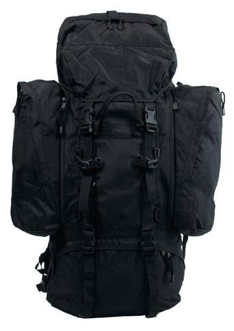 """Hátizsák """"Alpin"""", 110 literes, fekete, 30313A"""
