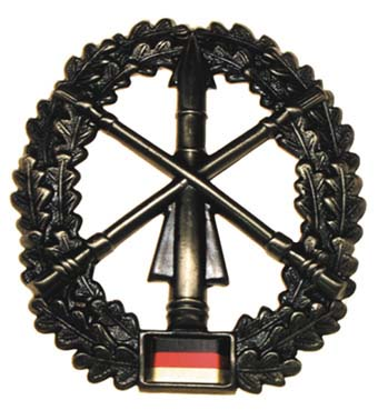 "Bundeswehr kitűző ""Heeresflugabwehr"", 36021D"