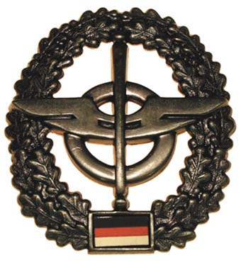 "Bundeswehr kitűző ""Nachschub"", 36021G"