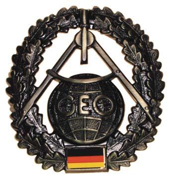 "Bundeswehr kitűző ""Topographie"", 36021I"