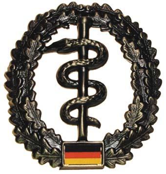 "Bundeswehr kitűző ""Sanitäter"", 36021L"