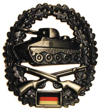 "Bundeswehr kitűző ""Panzergrenadier"", 36021O"