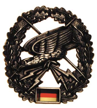 "Bundeswehr kitűző ""Fernspäher"", 36021Q"