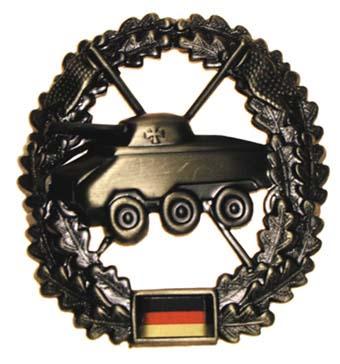 "Bundeswehr kitűző ""Panzeraufklärer"", 36021S"