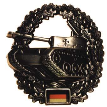 "Bundeswehr kitűző ""Panzertruppe"", 36021T"