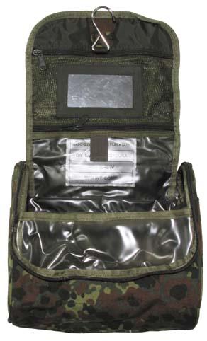 Tisztálkodószeres táska, terepszínű, 30481V