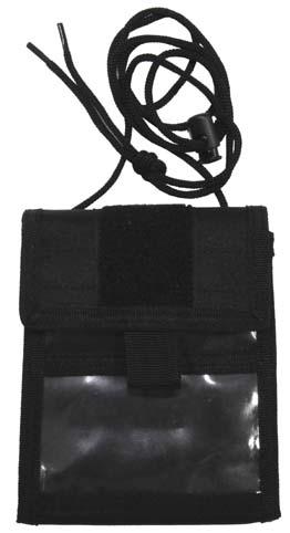 Pénztárca/irattartó, fekete, 30930A