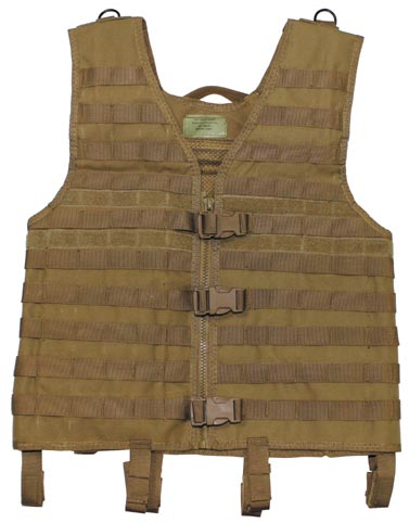"Taktikai mellény ""Molle light"", coyote tan, 04613R"