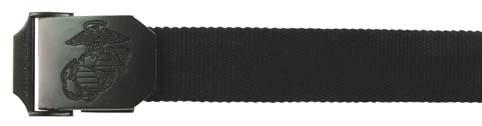 U.S.M.C. öv, fekete, 22505A