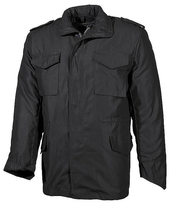 """US kabát """"M65"""", fekete, 03072A"""