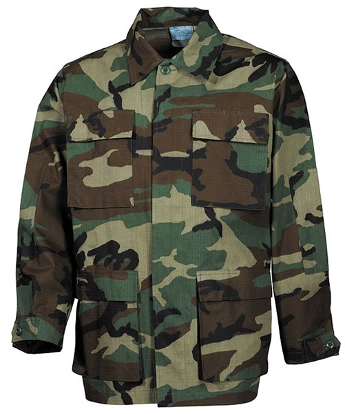 "US kabát ""BDU Rip Stop"", terepszínű, 03334T"