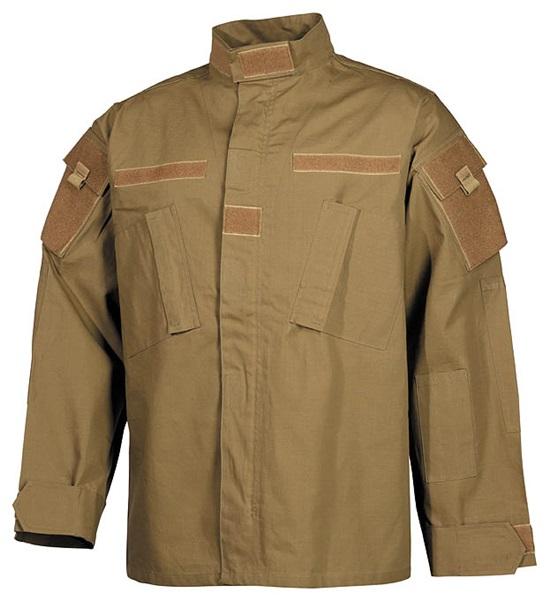 "US kabát ""ACU Rip Stop"", coyote tan, 03383R"