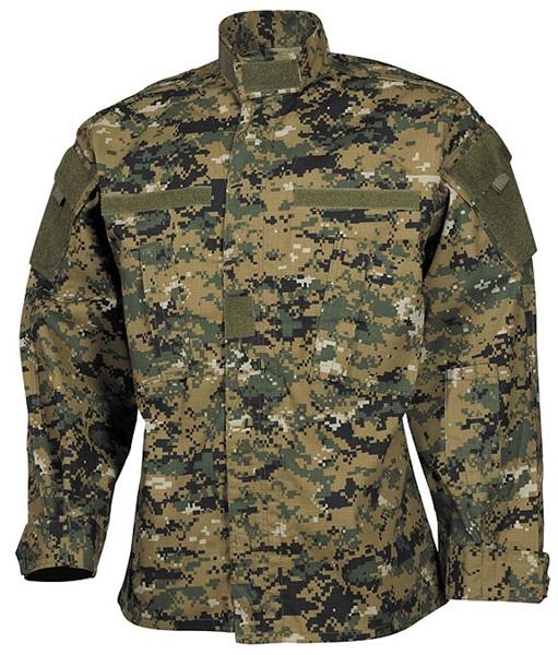 """US kabát """"ACU Rip Stop"""", digital woodland, 03383S"""