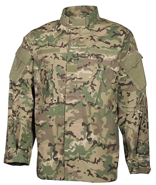 "US kabát ""ACU Rip Stop"", operation camo, 03383X"