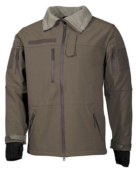 "Soft Shell kabát ""High Defence"", olív, 03411B"
