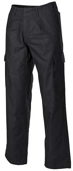 BW moleskin nadrág, extra méret, fekete, 01102A