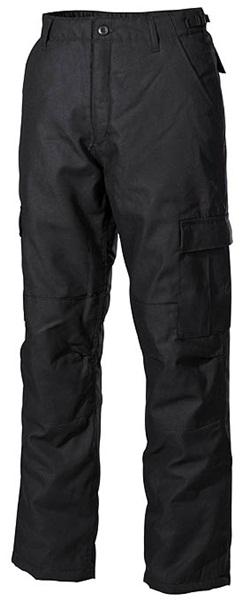 US katonai nadrág, bélelt, fekete, 01175A