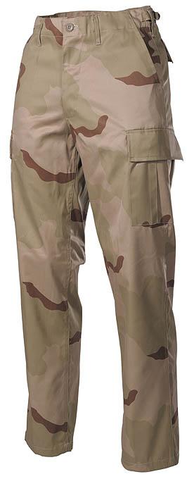 """US katonai nadrág """"BDU"""", 3 színű desert, 01324Z"""