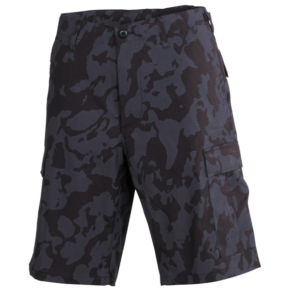 "US bermuda ""BDU"", RipStop, night camo, 01512K"