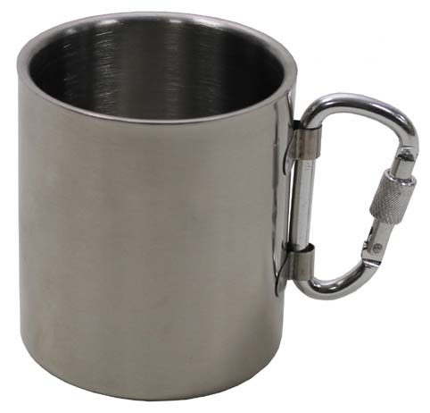 Rozsdamentes pohár, 0,3 l-es, duplafalú, 33374
