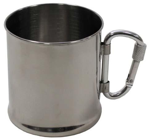 Rozsdamentes pohár, 0,22 l-es, 33382