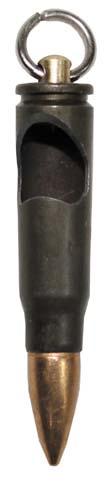 """Lőszer kulcstartó """"AK-47"""", réz, 28249"""