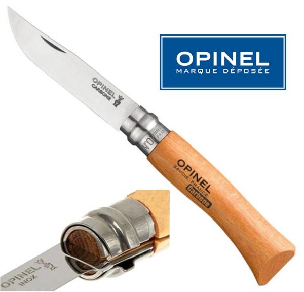 Opinel carbon steel bicska, No.7