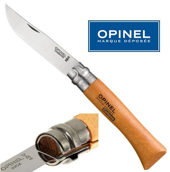 Opinel carbon steel bicska, No.10