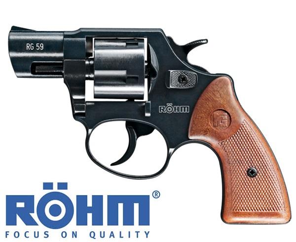 Röhm RG59N forgótáras gázpisztoly, 9 mm