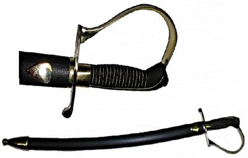 Gyalogsági kard, edzett pengével