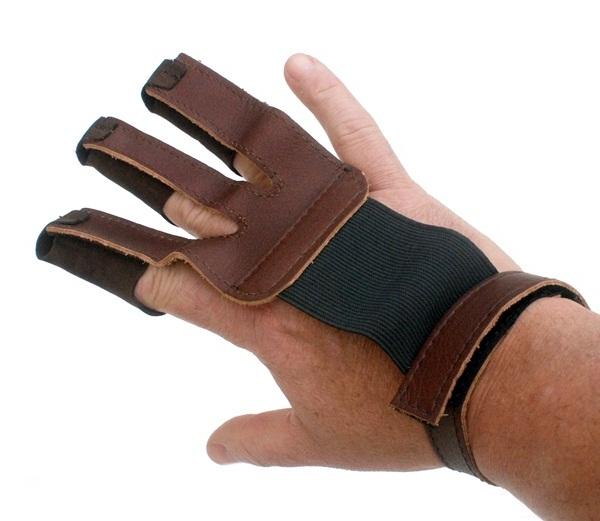 Ujjvédő kesztyű, 3 ujjas