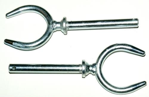 Evezővilla galvanizált, 14 mm-es