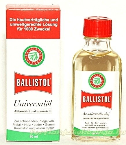 Ballistol fegyverolaj, 50 ml