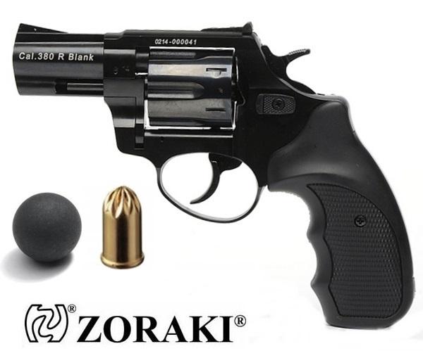 """Zoraki R1 GG gumilövedékes revolver, 2,5"""", fekete"""