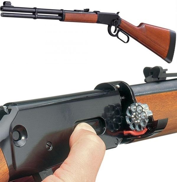 Walther Lever Action légpuska, fekete, UM4600040