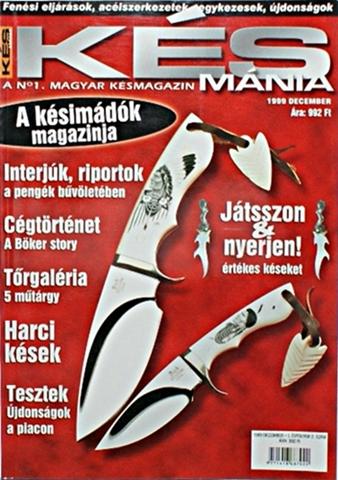 Késmánia magazin 2. szám, 1999 december