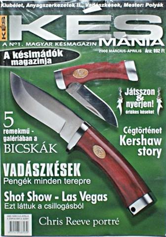 Késmánia magazin 3. szám, 2000 március-április