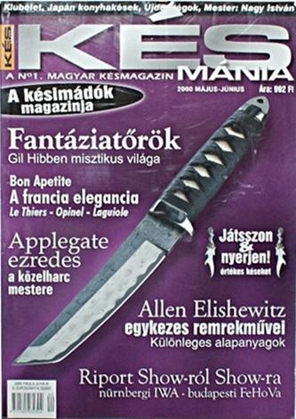 Késmánia magazin 4. szám, 2000 május-június