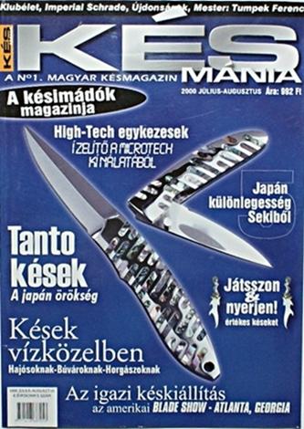 Késmánia magazin 5. szám, 2000 július-augusztus