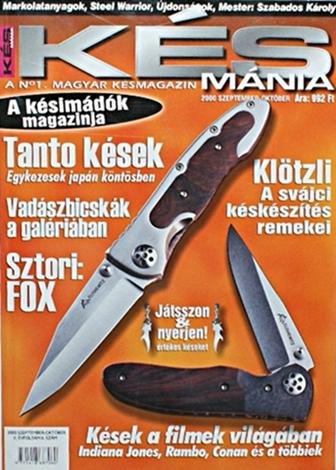 Késmánia magazin 6. szám, 2000 szeptember-október