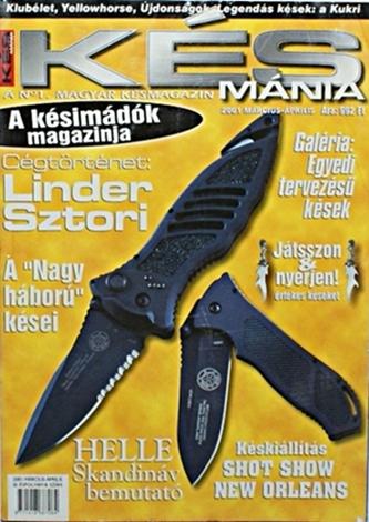 Késmánia magazin 8. szám, 2001 március-április