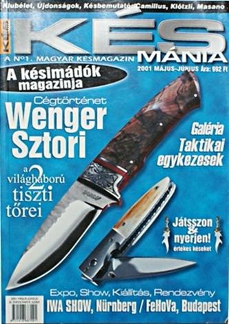 Késmánia magazin 9. szám, 2001 május-június