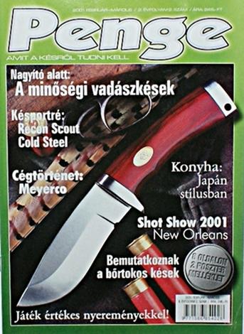 Penge magazin 2. szám, 2001 február-március