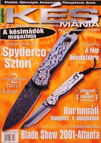 Késmánia magazin 10. szám, 2001 július