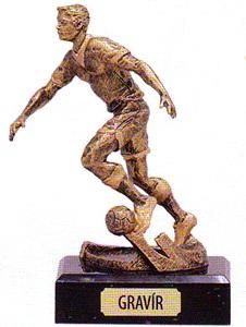 labdarúgó trófeák