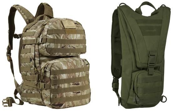 hátizsákok, táskák