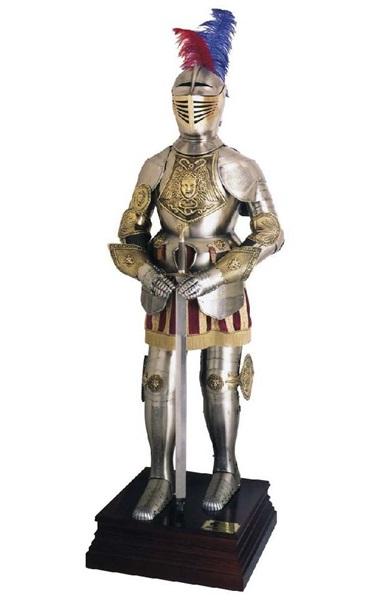 középkori páncélok