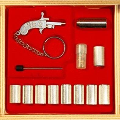 Berloque mini pisztolyok