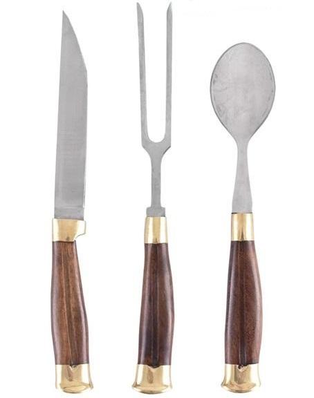 középkori kések, evőeszközök